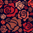 Red roses - Stockvectorbeeld