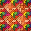 Geometric pattern - Stockvectorbeeld