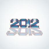 2012 logo — Stock Vector