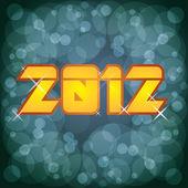 2012 yeni yıl — Stok Vektör