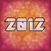 2012 logo — Stok Vektör