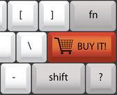 Koupit klávesnice — Stock vektor
