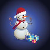 Christmas theme — Stockvektor