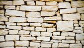 White stone wall — Stock Photo