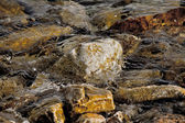 Sea water rocks — Stock Photo