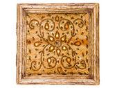 Wood jewelry box — Stock Photo