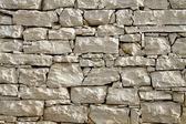 White flatted stone wall — Stock Photo