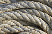 Rope mooring boat — Stock Photo