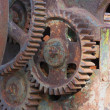 Old farm machinery — Stock Photo