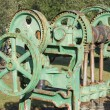 Stock Photo: Old farm machinery