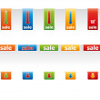 Colored price tags. — Stock Photo