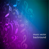 Notes music background — Stock Photo