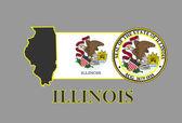 Illinois — Stock Vector