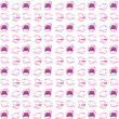 Gossiping Mouths Background Illustration — Stock Photo #6776238