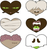 I Heart Halloween — Stock Vector
