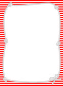 Nautical Knotted Rope Border — Stock Photo