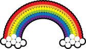Medicine Pills Arranged In A Rainbow — Stock Photo