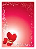 Love frame — Stock Photo