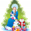 Snow maiden - Stock Photo