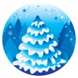 Christmas tree — Stock Photo #6874660