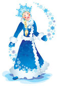 Snow maiden — Foto de Stock