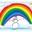 Snowman — Stock Photo #6899544