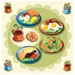 Food menu — Stock Photo
