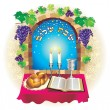 Stock Photo: Shabat shalom