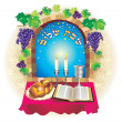 Shabat shalom — Stock Photo