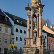 Stock Photo: Holy Trinity Plague Column in BanskStiavnica, Slovakia