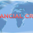 Global financial and economic crisis — Foto Stock