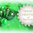 Stock Photo: Christmas invitation