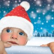 Royalty-Free Stock Photo: Santa Claus  baby- Happy New Year