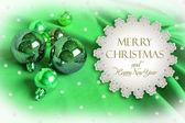 Christmas invitation — Stock Photo