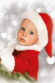 Bebê cristmas — Fotografia Stock