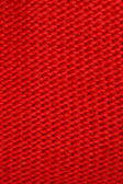Tessuto di lana a maglia rosso — Foto Stock