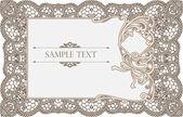 Invitation card — Stock Photo