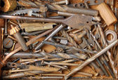 Artist hand tools for handcraft — Stock Photo