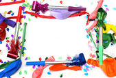 Birthday Party Framework — Stock Photo