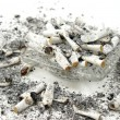 Stock Photo: Ashtray Overflow