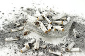 Ashtray Overflow — Stock Photo
