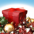 Holiday Gift Box — Stock Photo #7001353