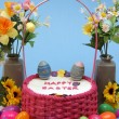 Easter Cake - Stok fotoraf