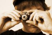 Vintage Spy Camera — Stock Photo