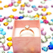 anello di diamanti — Foto Stock #7466272