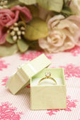 Diamond Ring — Stock Photo