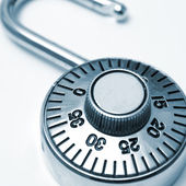 Combination Lock — Stock Photo