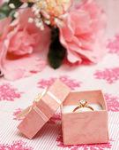 Diamant-ring — Stockfoto