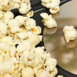 Stock Photo: Home DVD Movie and Popcorn