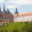 View of Kutna Hora - Stock Photo